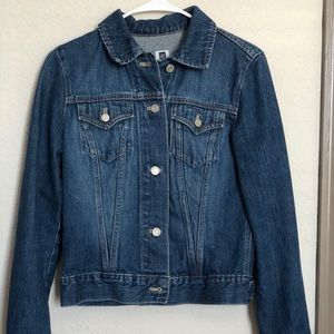 GAP Vintage Dark Wash Jean Jacket